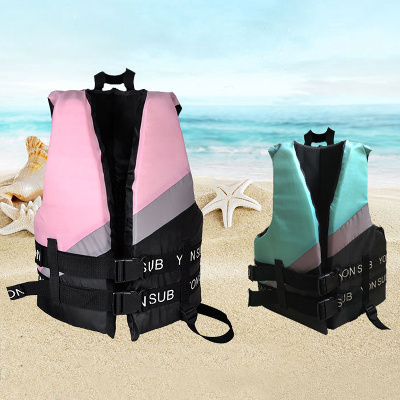 Adult Life Vest Thicken High Buoyancy Life Jacket Water Sports Equipment For Rafting Swimming