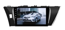 3 years warranty Quad Core 10.2″ Android 6.0 Car DVD Player for Toyota Corolla 2014 2015 Russian car stereo gps navi headunit