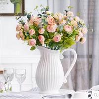 Home decoration, ceramic vase, Mediterranean style
