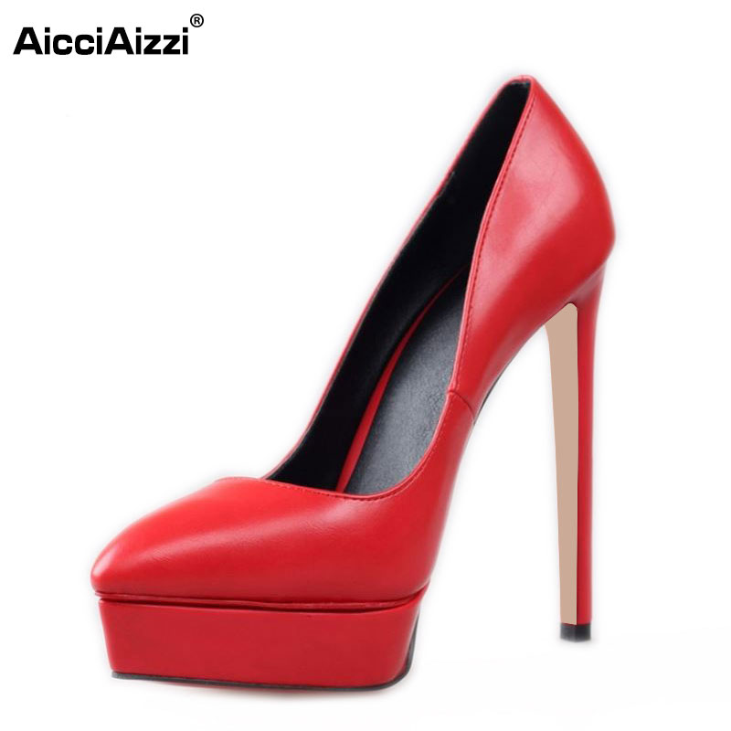 Size 35-42 Women's Platform High Heel Shoes Stiletto Brand Quality Heeled Pumps Ladies Fashion Sexy Gladiator Shoes R08749 size 35 42 women s platform high heel shoes stiletto brand quality heeled pumps ladies fashion sexy gladiator shoes r08753