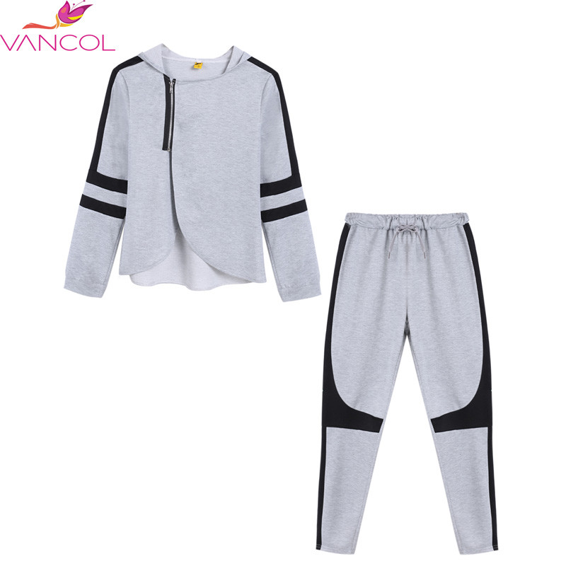 2015-Fashion-Zipper-Split-Hooded-Tops-Pants-Suit-Women-Casual-Sport-Suit-O-Neck-Tracksuit-2 (1)