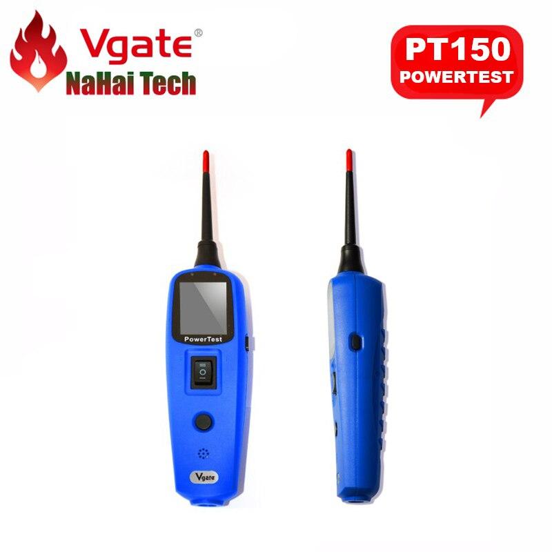 Prix pour 100% D'origine Vgate PT150 Puissance Power Test Sonde De Voiture Électrique Testeur de Circuit Automobile De Diagnostic-Outil PK YD208 PS100 BT100