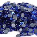 ss6,ss10,ss16,ss20,ss30 Sapphire Top Quality DMC Iron On Glass Rhinestones/Hot fix Crystal Rhinestones with Strong Gray Glue