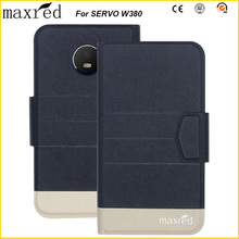 Maxred 5 Colors Original! SERVO W380 Case High Quality Flip Ultra-thin Luxury Leather Protective For Cover
