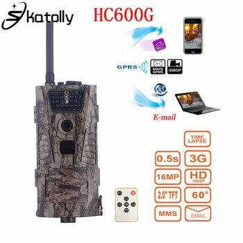 Skatolly HC600G 16MP HD 1080P trampa caza Cámara GPRS MMS 3G Digital Trail Cámara caza exterior