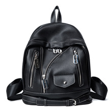 Новинка 2017 мотоциклетная кожаная куртка сумка Персонализированные путешествия рюкзак Одежда Пакет дамы прилив