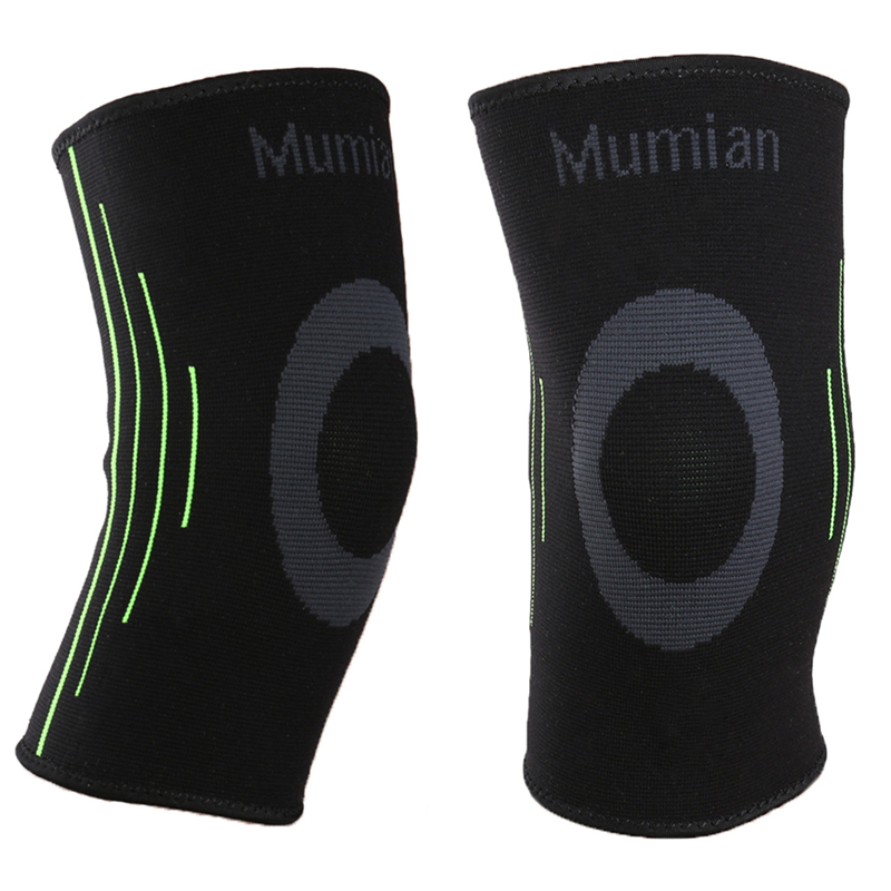 Silicone Anti-Slip Sports Knee Pads Knit Sport Knee Sleeve Brace Guard Pad Protector Sports Knee Protection Case #20/25W
