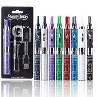 5pcs Lot Cheap Electronic Cigarette Kits Snoop Dogg Burning Dry Herb Herbal Vape Wax Vaporizer Pen