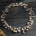 Пресной воды жемчужное ожерелье кулон женщин горячей форма листа свитер длинная цепь высокого качества старинные леди ювелирные изделия перлы ожерелье цепь