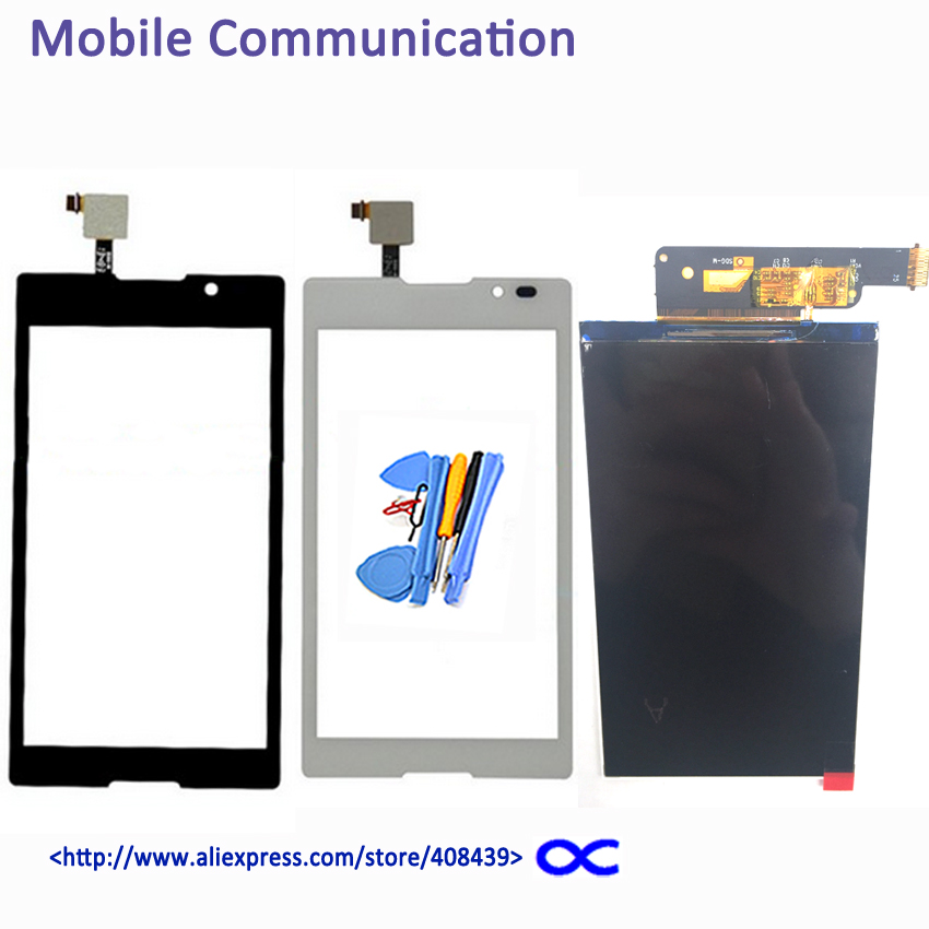S39 LCD Touch Screen For Sony Xperia C S39H S39 C2304 C2305 Display Touch Panel Digitizer tools Tracking