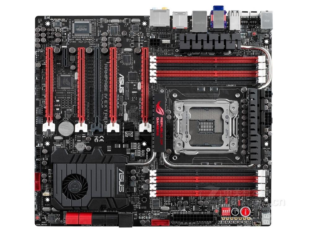 все цены на ASUS RAMPAGE IV EXTREME/BF3 DDR3 LGA 2011 X79 Desktop Motherboard for I7 CPU 64GB USB2.0 USB3.0 motherboard free shipping