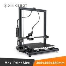 Обновленный Большой Размер 400*400*480 мм Высокое Качество Точности Reprap Prusa i3 DIY 3D Принтер Комплект
