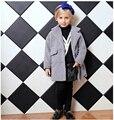 Мода Детская одежда зимний мех пальто для девочек детская одежда куртка элегантная одежда для девочек девушка верхняя одежда класса люкс искусственного меха