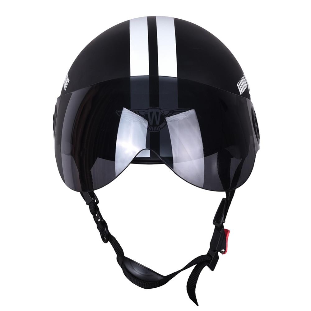 New Motorcycle Half Face Protective Helmet Visort,Men -2904