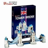 Candice guo! 3D puzzel speelgoed Cubicfun 3d-bouwplaat puzzel spel London Tower Bridge 1 st