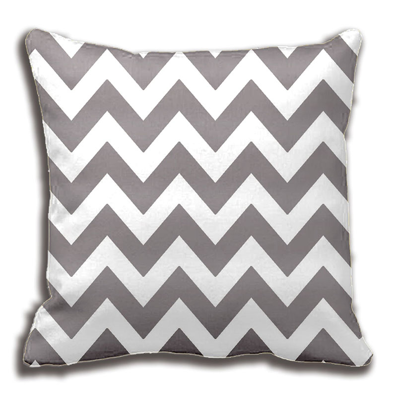 grey striped pillow decorative cushion cover pillow case customize gift highquility by lvsure for