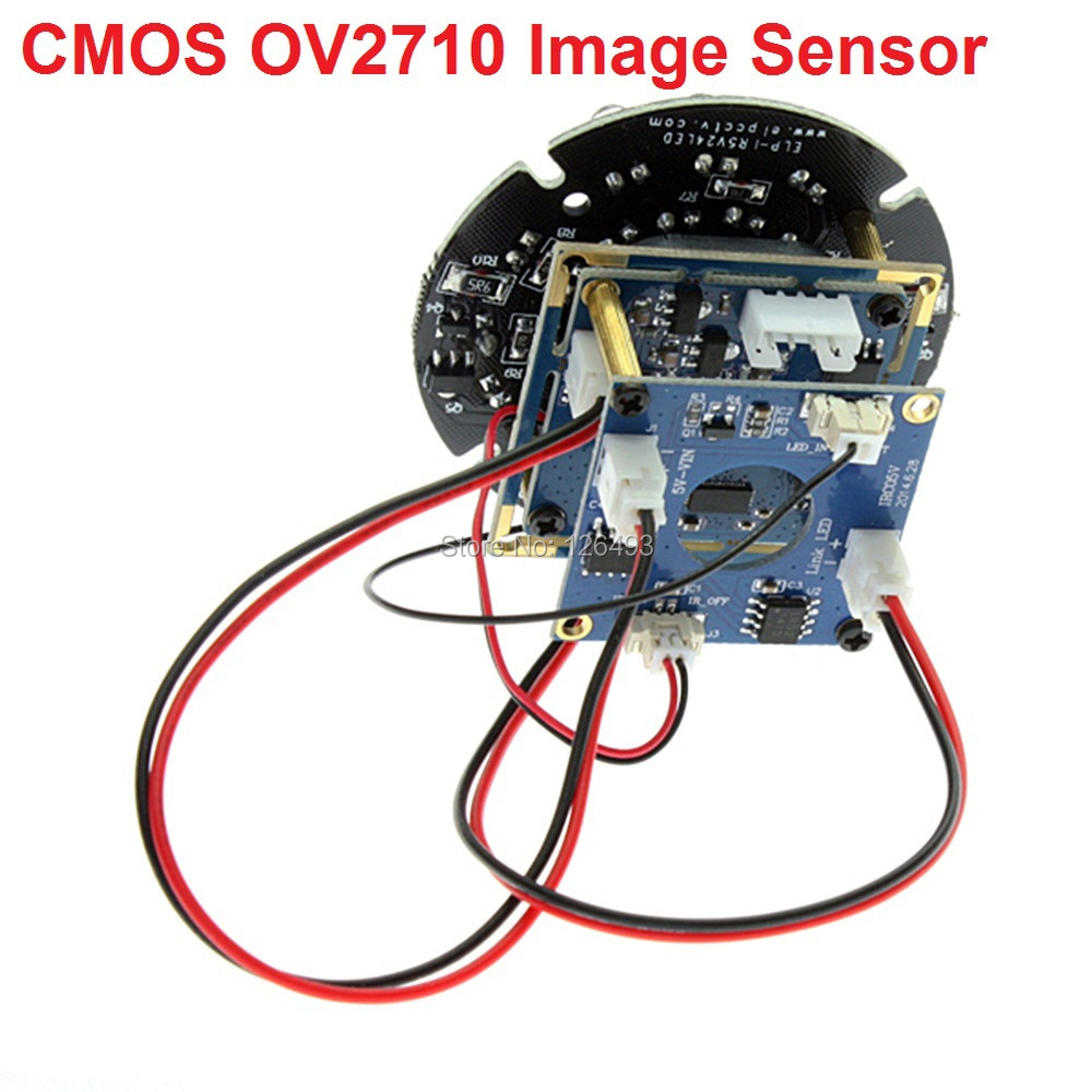 US $42 85 5% OFF|1080P CMOS OV2710 free driver infrared night vision ir usb  camera module for android ,linux,windows-in Surveillance Cameras from