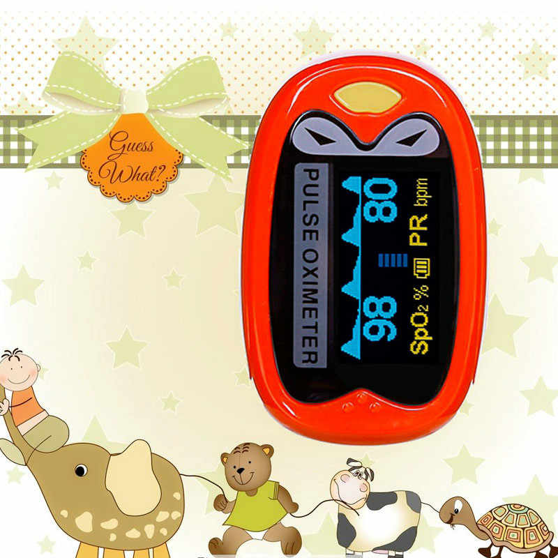 Çocuk parmak Pulse oksimetre 1-12 Yaşında Bebek Çocuk Bebek Pulse Oksimetre Pediatrik De pulso Dedo oximetro spo2 pulsioximetro