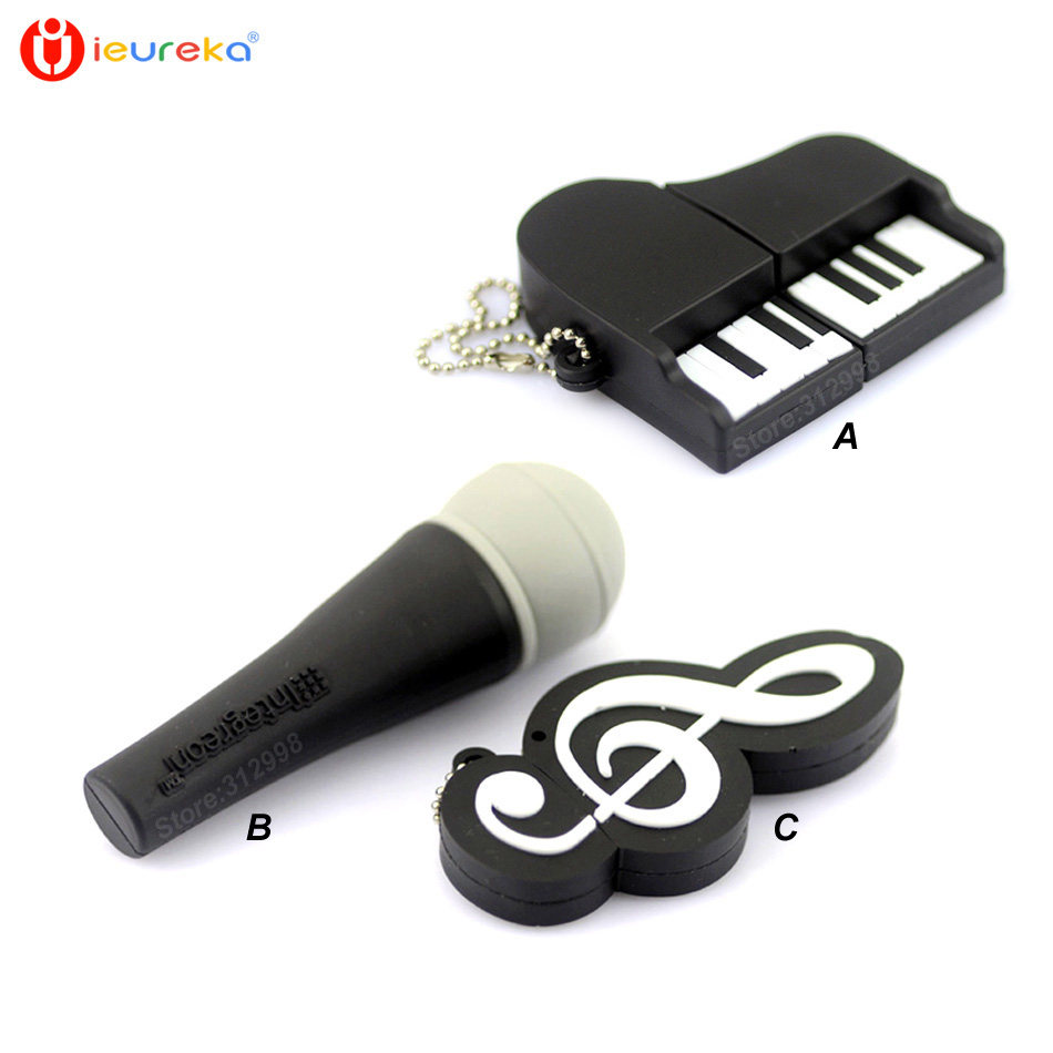 buy musical instruments model usb flash drive microphone piano guitar pen drive. Black Bedroom Furniture Sets. Home Design Ideas