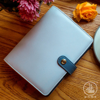 2017 New Arrive A6 Blue Pink Faux Leather Planner kawaii Notebook office & school supplies personal diary
