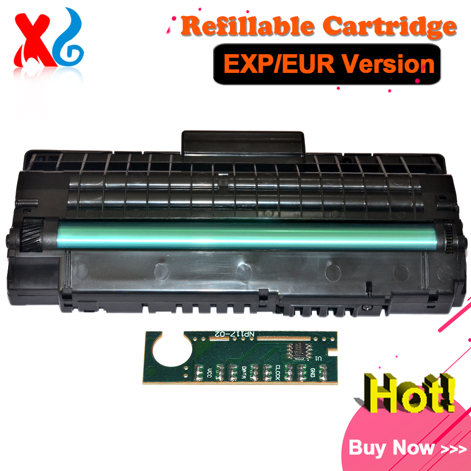 Refill Toner Cartridge for Samsung SCX 4200 D4200A SCX4200 SCX-4200 SCX-D4200A EXP/EUR Reset Chip Printer Toner Cartridge Parts compatible laser printer chip reset for dell 3130 toner cartridge chip