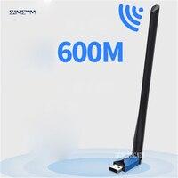 USB Wifi adapter 600Mbps dual band high gain wireless USB wifi antenna TL WDN5200H 802.11ac Wireless Wifi USB 2.4G & 5G