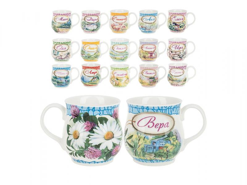 Mug Polystar Collection, Women 'S names, 350 ml jm collection women s 100