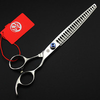 Professional Pet Thinning Scissor 8inch Japan 440C Diamond Screw Dog Shear Grooming Tool Hairdressing Style