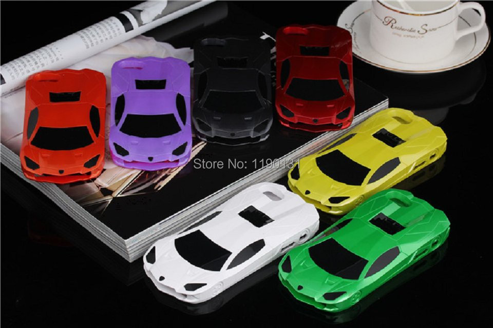 fashion 3D sports car phone case iphone5 5S plastic cell classic sport shell - DODO Co. ltd. store