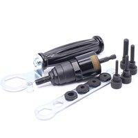 M4 M5 M6 M8 M10 Electric Rivet Nut Gun Steel And Alu Battery Riveter Adapter Insert