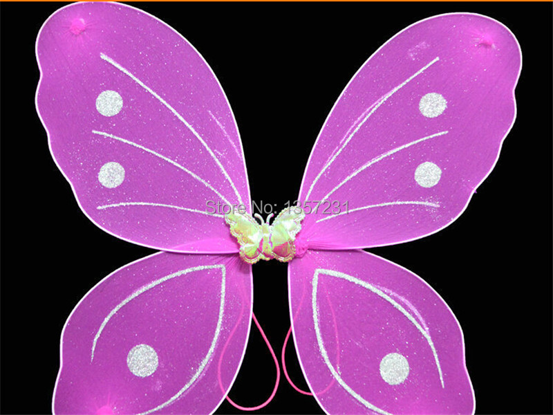 US $644.14 14% OFF|Wholesale 200pcs/lot Party accessories fairy butterfly  wing-in Party Favors from Home