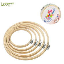 10-30 cm Wooden Frame Hoop Circle Embroidery Round Machine Bamboo For Cross Stitch Hand DIY Household Craft Looen Sewing Tools