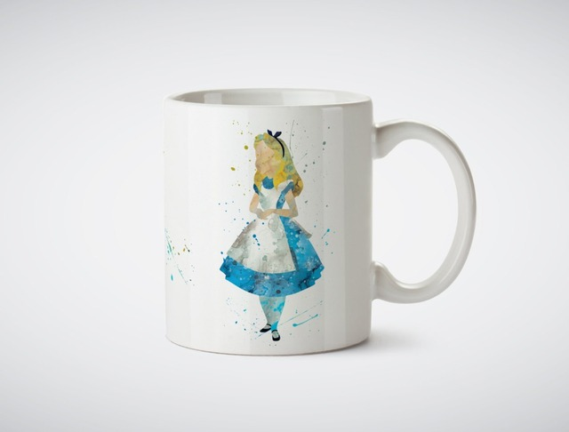 Alice In Wonderland Mugs Kitchen Decor Ceramic Cup Home Decal Owl Cups Beer  Milk Tea Porcelain