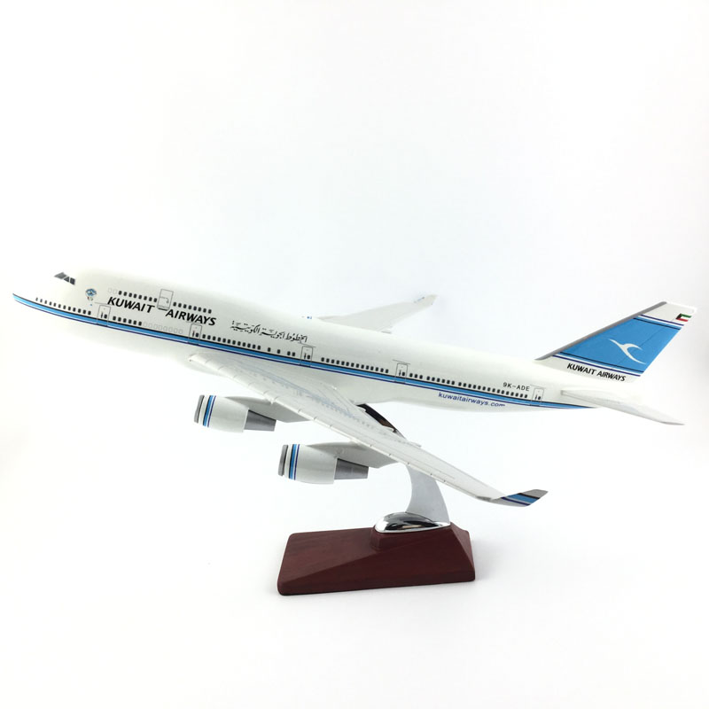 45-47CM B747 KUWAIT AIRWAYS 1:150 METAL Alloy Aircraft Model Collection Model Plane Toys Gifts Free express EMS/DHL/Delivery phoenix 11079 airlines b747 8f vq bvc silkway 1 400 commercial jetliners plane model hobby