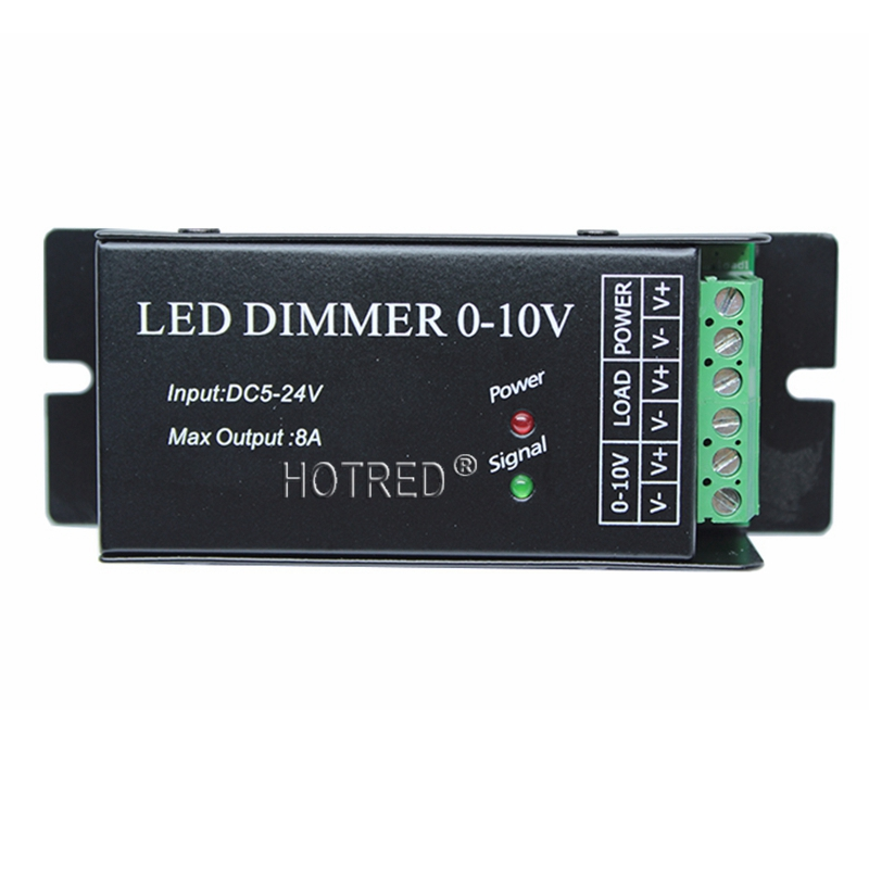 Airmail Shipping, Input 0-10V Dimmer Singal,1 Channel 8A,12