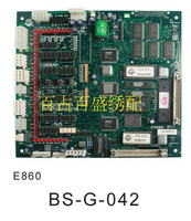 sewing machine accessories firm for 100% of luxury brand 02 computer embroidery machine computer motherboard E860