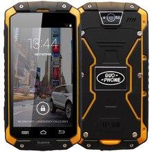 "Original 4.5 ""IPS GUOPHONE V9 Impermeable Resistente Smartphone MTK6572 Android 4.4 512 MB RAM 4 GB ROM WCDMA 3G Teléfono Móvil"