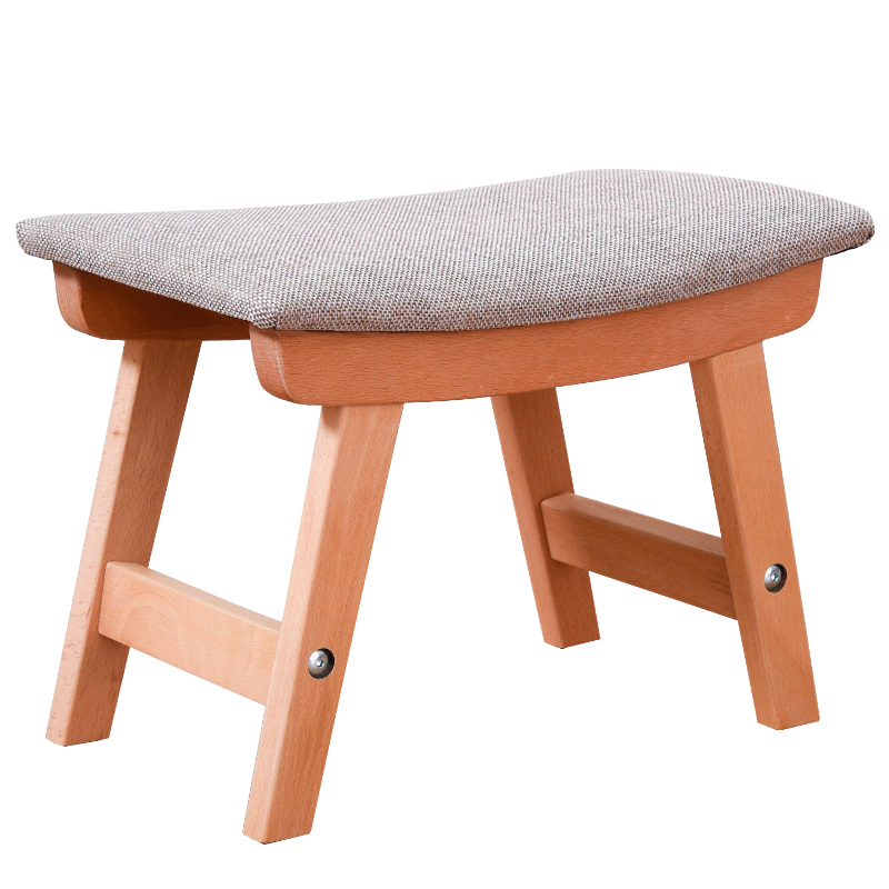 Large Wood Sofa Tables With Stools: Solid Wood Shoes Bench Step Stool Home Sofa Stool Adult
