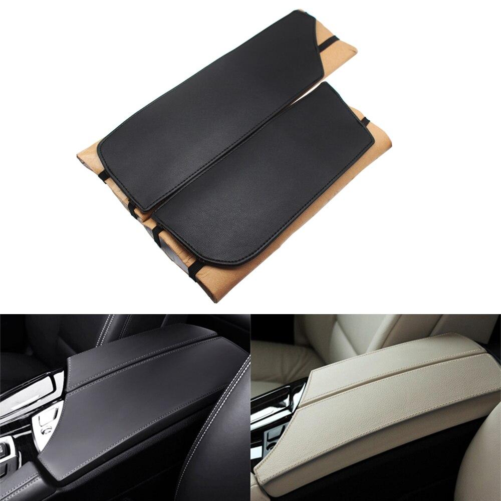 Fits 99-06 BMW E46 Coupe Beige Vinyl Leather Door Panel Armrest Covers