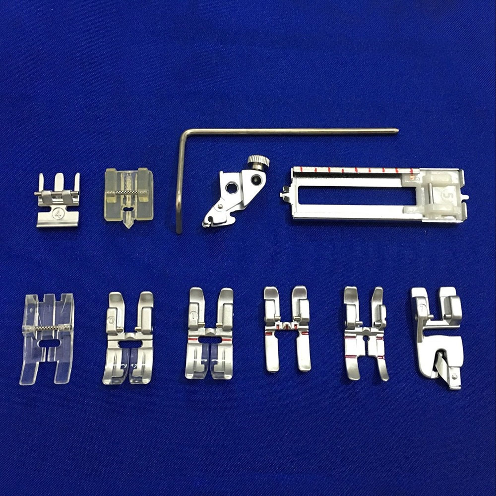Image 4 - 11PCS Set #CY 011 001  Snap On Presser Walking Foot/Feet Fit for Pfaff 1000 7570 with IDT Walking Foot Sewing accessories-in Sewing Tools & Accessory from Home & Garden