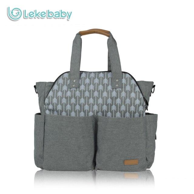 b321a1cb6e Lekebaby sac fourre-tout de voyage Ultra-grande capacité sac à langer momie  maternité
