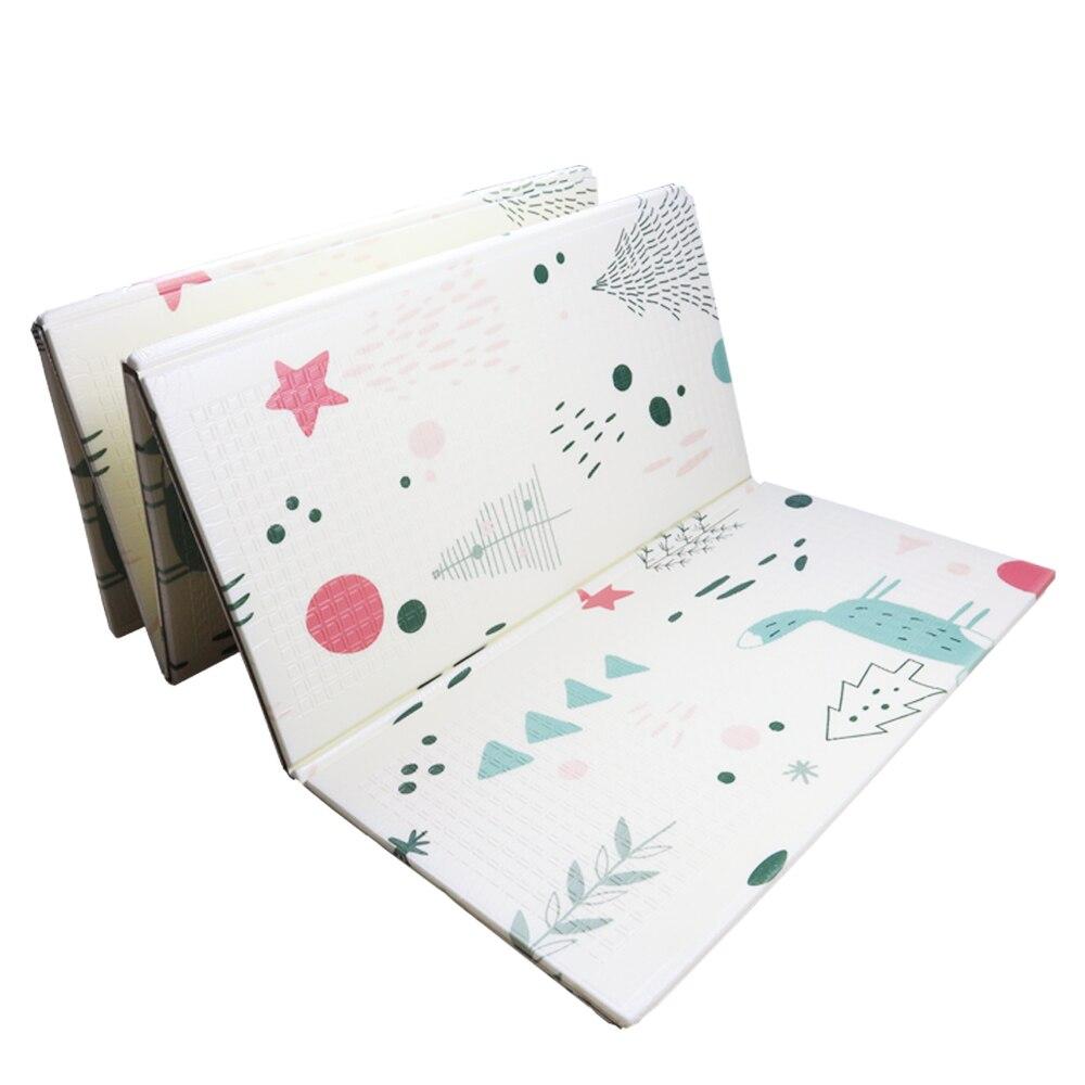 Tapis de jeu pour bébé Xpe Puzzle tapis épaissi pour bébé tapis rampant tapis pliant tapis bébé - 2