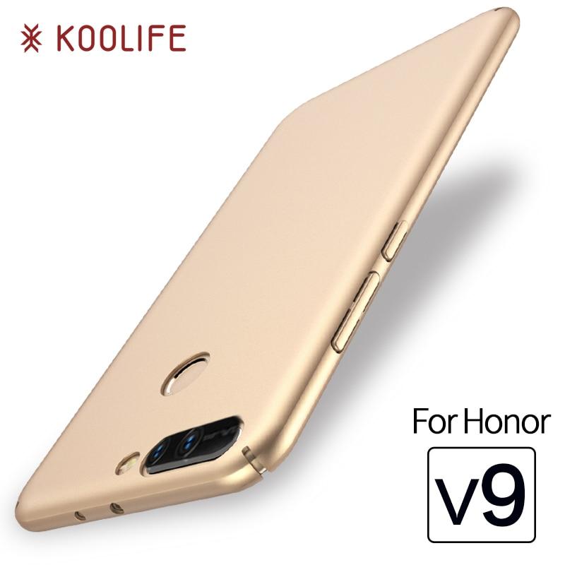 Чехол для Huawei Honor V9 случаях оригинальный koolife марки телефона Футляр PC задняя крышка Роскошные силиконовый чехол для Honor V9 случаях