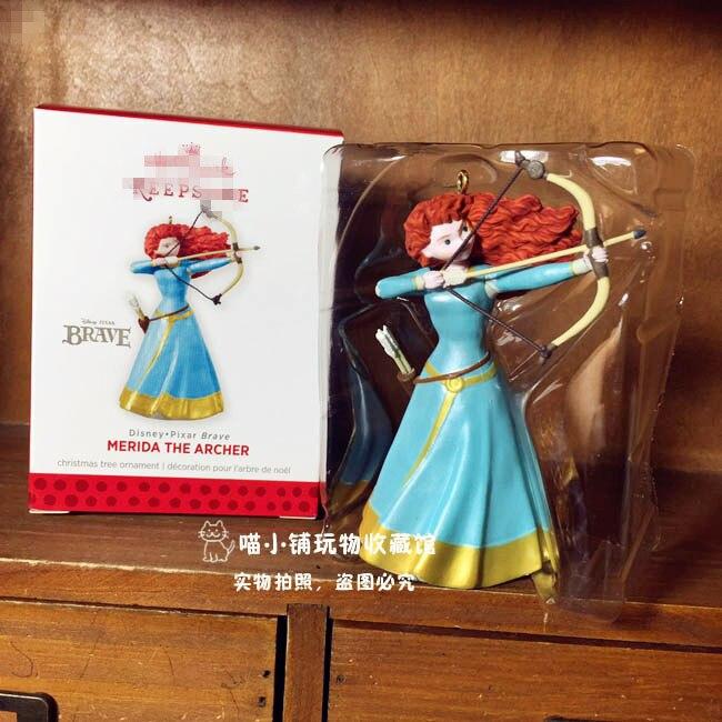 1pcs brave merida princess figure Merida the archer Action Figure Toys Cute Collection T ...