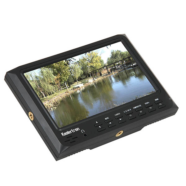 Koolertron 7inch Ultra HD 1024x600 IPS Screen Camera Field Monitor HDMI Input&Output with F970 Plate Support for GH4,A7RII,A7SII lilliput tm 1018 o p 10 1 led ips full hd hdmi field touch screen camera monitor with hdmi input