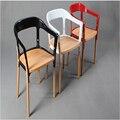 2 Х Буруллек steelwood стул. стулья для столовой. столовая мебель, кресло, металл + дерево мебель