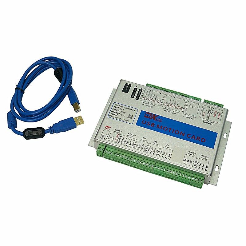 Carte de contrôle de mouvement USB 2 MHz Mach3 CNC pour routeur CNC MK3