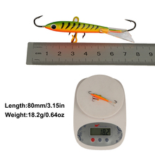 Goture 4pcs Ice Winter Fishing Lures Isca Artificial Pesca Carp Fishing for Bass Walleye Trout Panfish and Pike