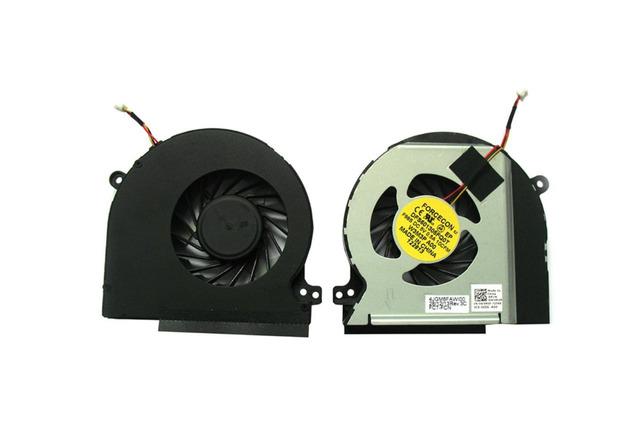 Cpu del ordenador portátil ventilador de refrigeración para dell xps 15 l501x xps 15 l502x xps 17 l702x xps 17 l701x