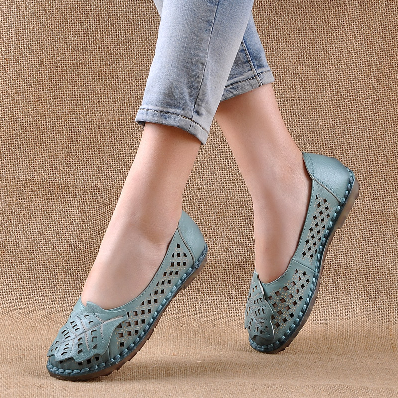 Nice Women Loafers Lady Flat Shoes Woman Summer Flats